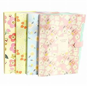 skydue floral printed accordion document file folder With printed document folder