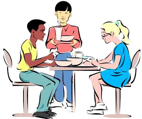 Employee Lunch Meeting Clip Art