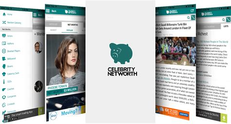 Mobile App | Celebrity Net Worth