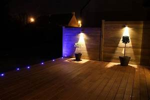Eclairage Terrasse Bois : terrasse bois menuiserie ~ Melissatoandfro.com Idées de Décoration