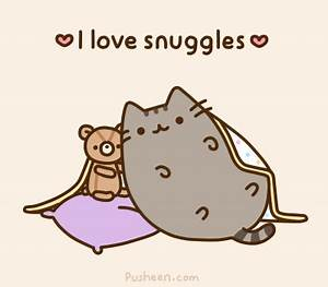 Pusheen the cat.. i've just recently started seeing ...