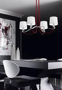 embellir la salle a manger avec lustre design With lustre pour salle a manger