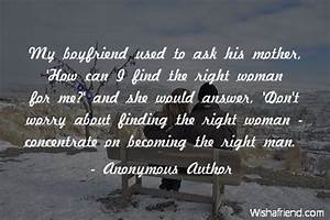 Anonymous Autho... Worried Boyfriend Quotes