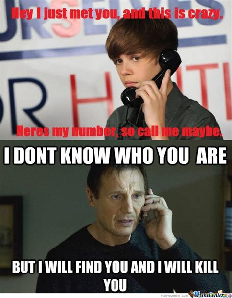 Liam Neeson I Will Find You Meme - i will find you and i will kill you know your meme