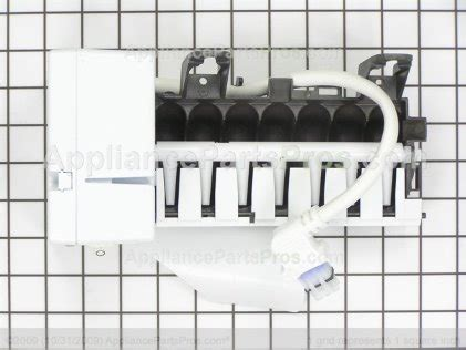 fixed ge monogram ice maker leaking  freezer