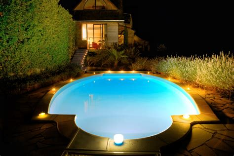 pool with lights 9 types of outdoor lights for your home