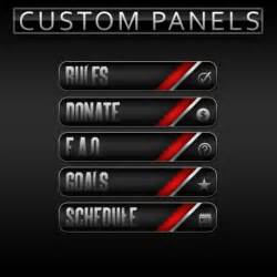 Free Twitch Panels Button