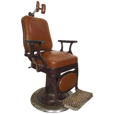 vintage barber style chair for sale at 1stdibs