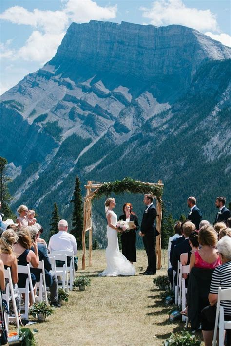 top  mountain wedding ceremony decor ideas deer pearl
