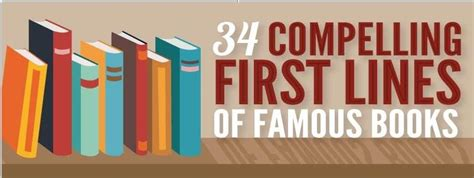 34 Compelling First Lines Of Famous Books - I2Mag ...