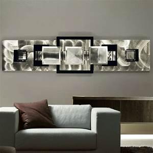 Modern wall art photograph metal