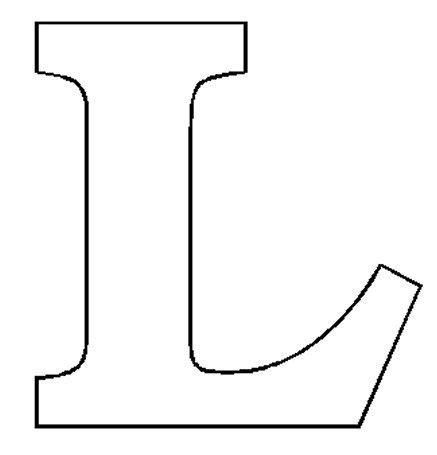 block letter i image result for letter quot l quot cricut designs 43788