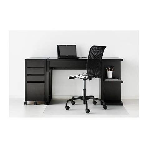 ikea micke bureau rismon abat jour bleu vert blanc cable drawer unit