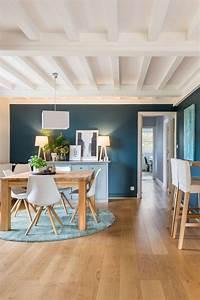 La Maison Möbel : un mur bleu sublime la salle manger d corationmoderne ~ Watch28wear.com Haus und Dekorationen