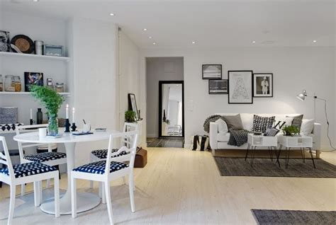White Apartment by A Small White Apartment With Black Accents And Modern
