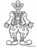 Clown Coloring Pages Circus Printable Face Clowns Print Scary Creepy Smiling Colouring Sheets Funny Popular Happy Evil Coloringhome Colorings sketch template