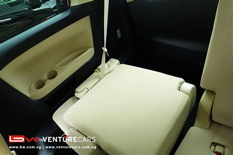 toyota alphard   seater venture cars singapore