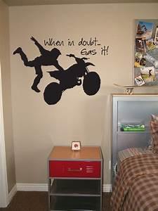 motocross bedroom wallpaper wall decal dirt bike wall With dirt bike wall decals for home decorating