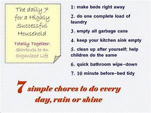 The Daily 7 For a Highly Successful Household