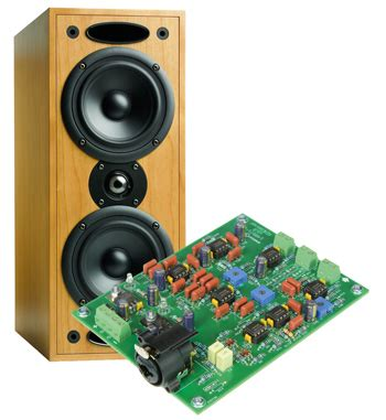 active crossover for active loudspeakers elektor magazine