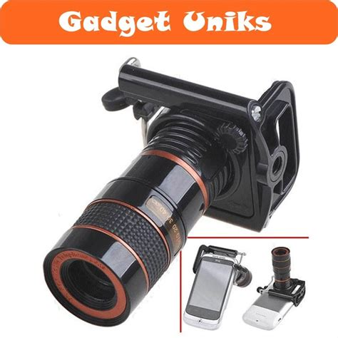 jual lensa kamera telezoom untuk smartphone handphone hp