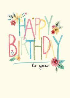 feliz cumpleaños pinterest vintage Buscar con Google