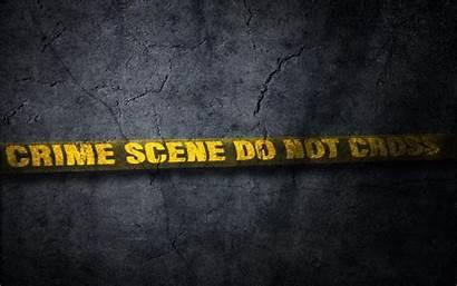 Crime Scene Cross Wallpapers Tape Violence Dark