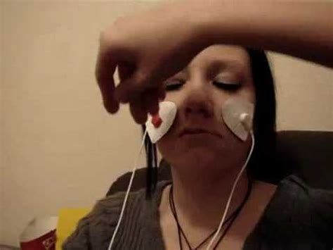 Tens Machine on Girls face - YouTube