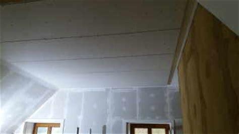 Decke Alleine Mit Gipskarton Verkleiden  Eine Arbeitshilfe