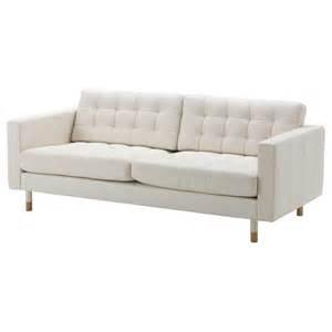 Ikea Sofa Weiß : landskrona 3er sofa grann bomstad wei holz ikea ~ Watch28wear.com Haus und Dekorationen