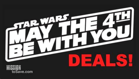 May the 4th Be With You - Star Wars Day Deals and Freebies ...
