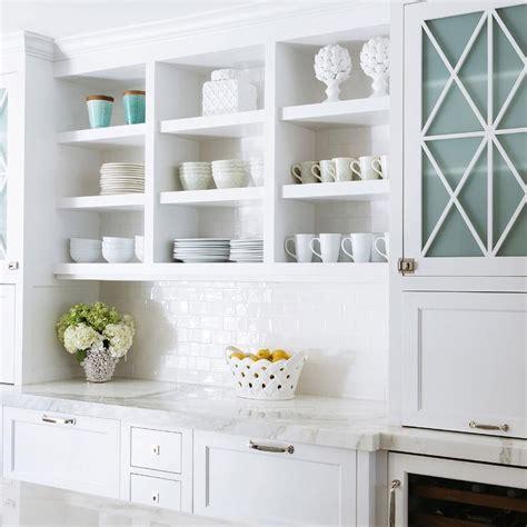 White Kitchen Cabinets White Subway Tiles Design Ideas