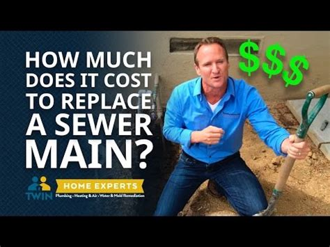 how much does it cost to replace a sewer pipe
