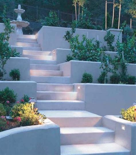 outdoor lights  safe yard landscaping beautiful