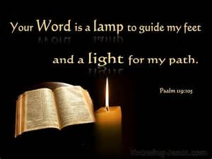 External Lamp by Psalm 119 105 Verse Of The Day