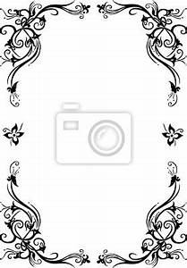 Rahmen Vorlagen Schnörkel : fototapete rahmen blumen floral ornamental filigran schn rkel ~ Eleganceandgraceweddings.com Haus und Dekorationen