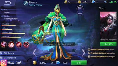 New Pharsa Elite Skin