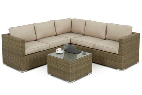 Shopping For Sofa Set by 4 5 Seater Rattan Corner Sofa Set Sofa Sets
