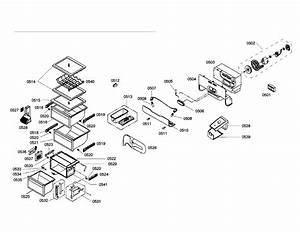 Bosch Refrigerator Compressor  Condenser Parts