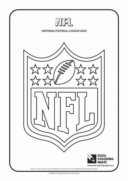 Coloring Nfl Pages Cool Logos Teams Football