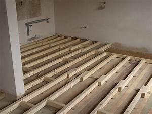 Dřevěný trámový strop skladba