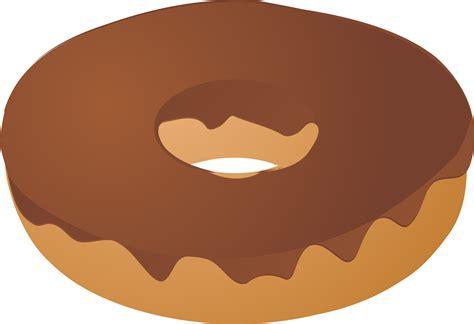 Cartoon Chocolate Donut