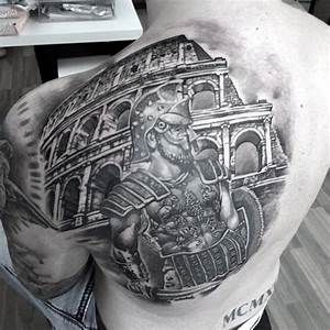 40 Valiant Gladiator Tattoo Designs | Gladiator tattoo ...