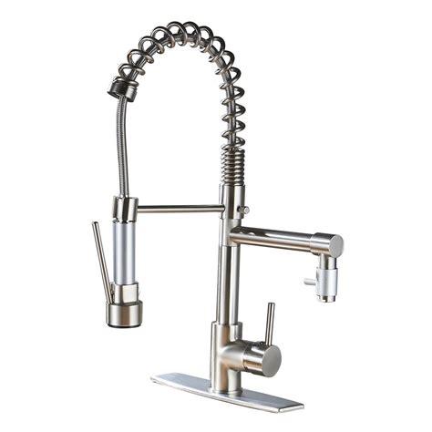 kohler revival kitchen faucet kohler revival kitchen faucet brushed nickel