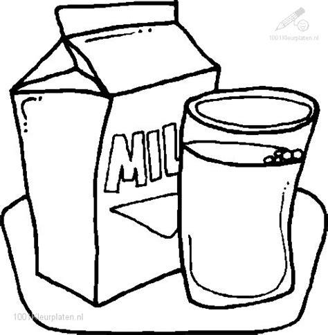Kleurplaat Eten En Drinken by Kleurplaat Melk