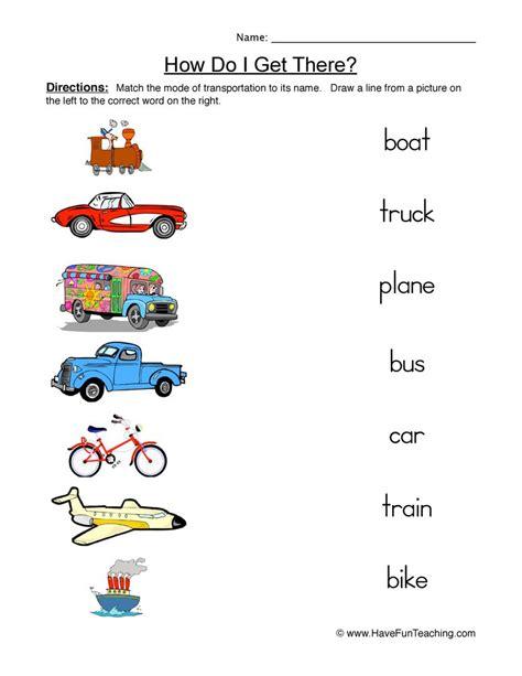 types of transportation create webquest