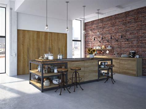 relooking d une cuisine rustique la brique dans votre salle à manger 20 modèles pour vous