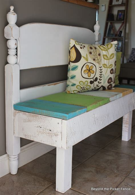 Benches Made Out Of Headboards by Remodelaholic 25 Headboard Benches How To Make Your Own