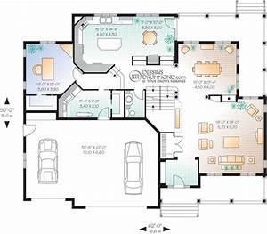 plan de maison design free plan de maison design with With good plan maison avec patio 7 maison plain pied 2 chambres plans amp maisons