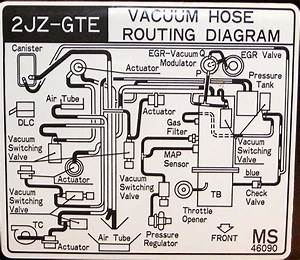 Stock Mkiv Underhood Vacuum Line U0026 39 S Diagram Pic